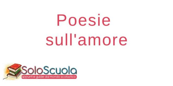 Poesie sull'amore