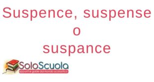 Suspence, suspense o suspance: come si scrive