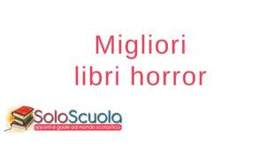 Migliori libri horror