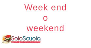Week end o weekend