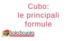 Cubo formule