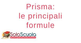 Prisma formule