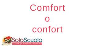 Comfort o confort