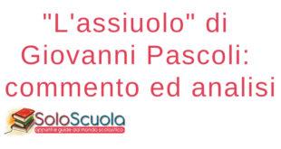 L'assiuolo di Giovanni Pascoli